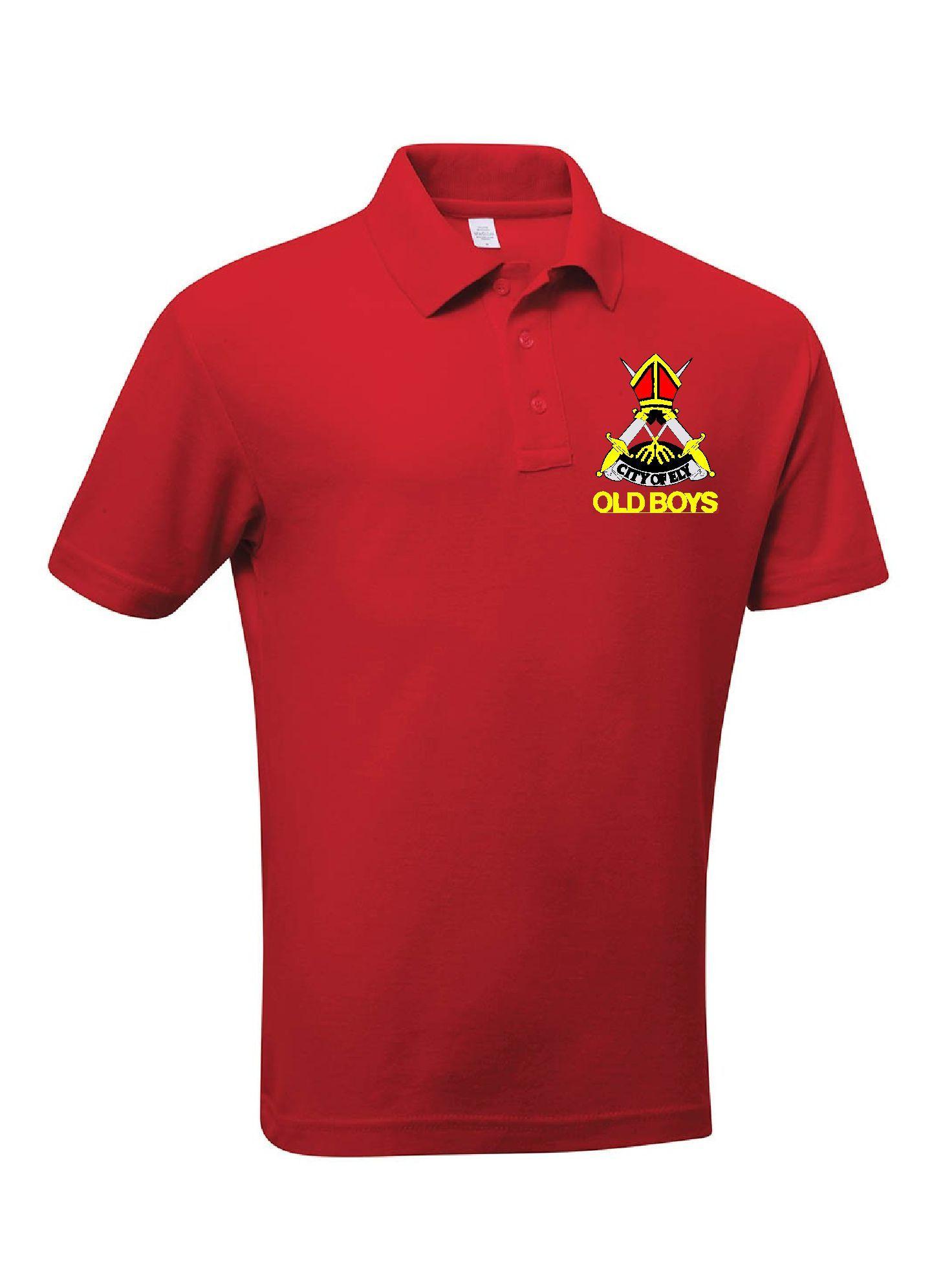 Ely City Hockey Club - 'Old Boys' Polo Shirt