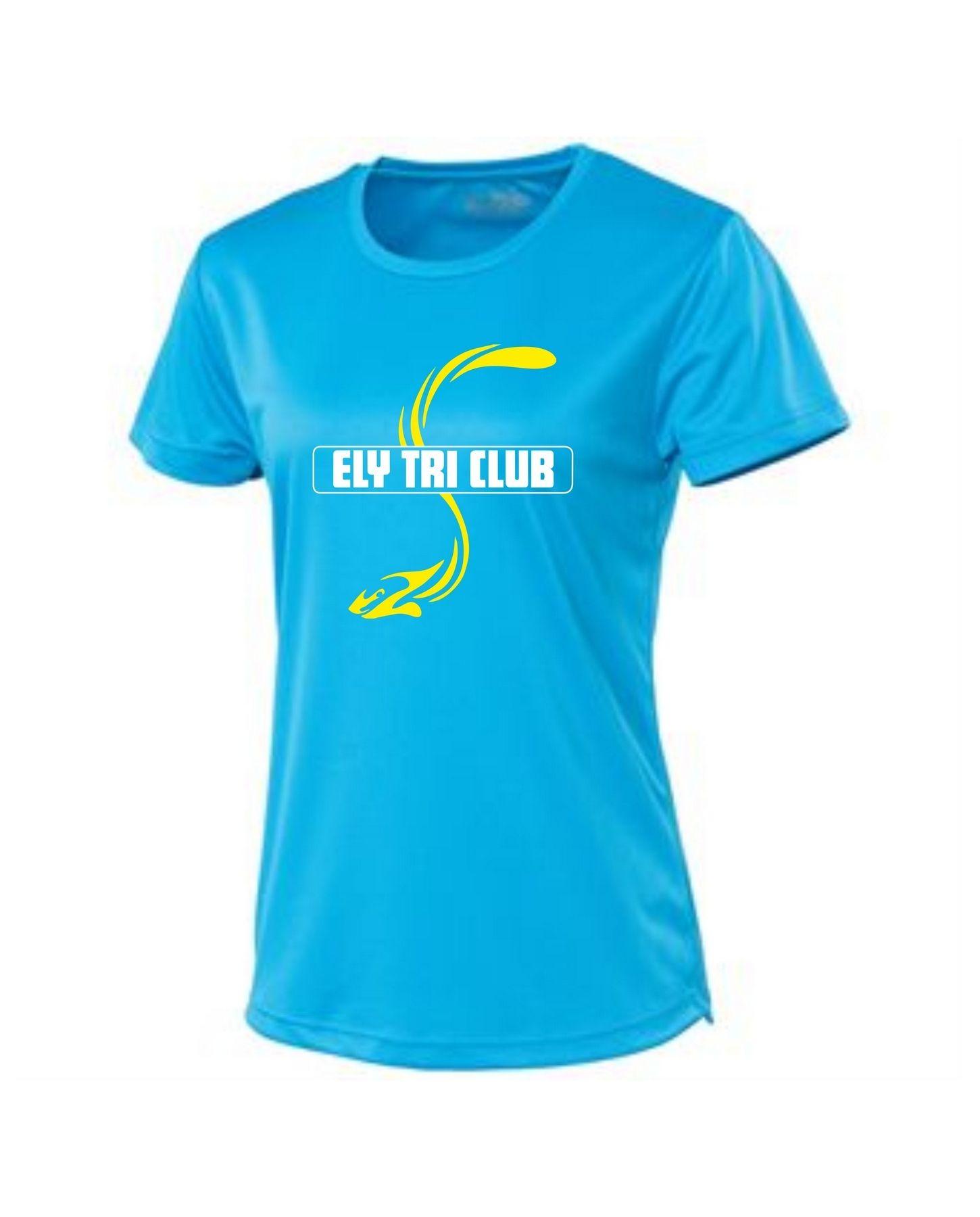Ely Tri Club – Ladies Performance Tee