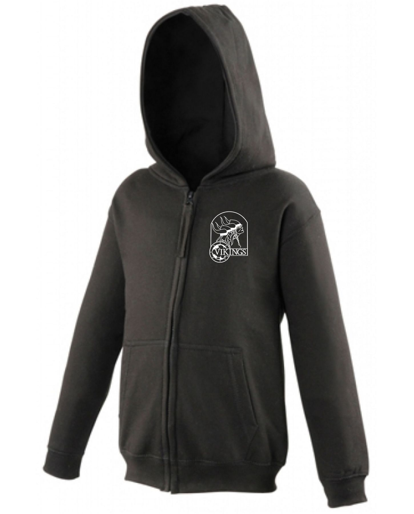 Vikings Hoodie with Zip Junior