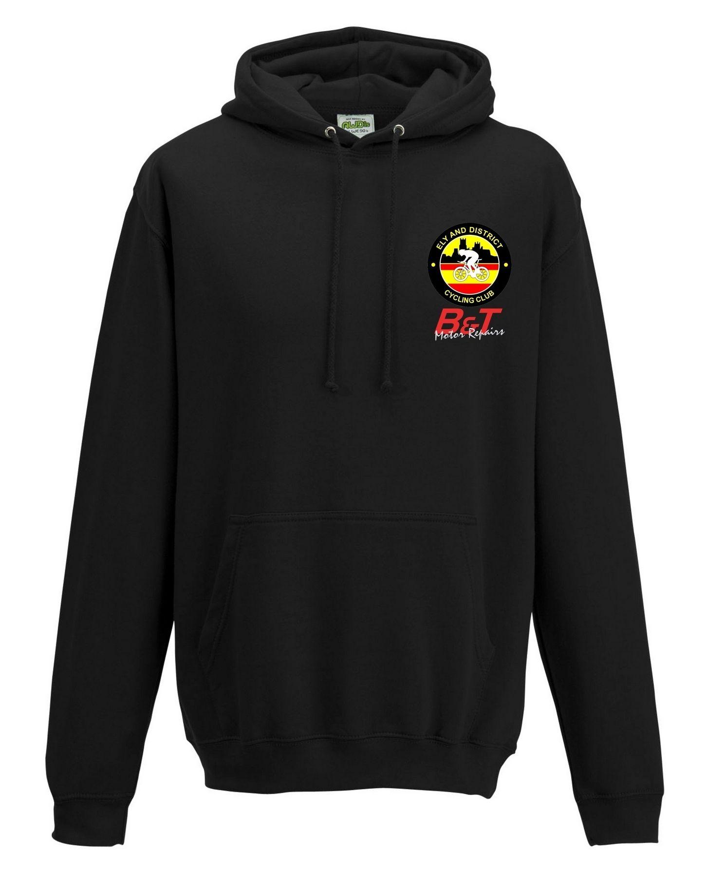EDCC – College Hoodie in Black
