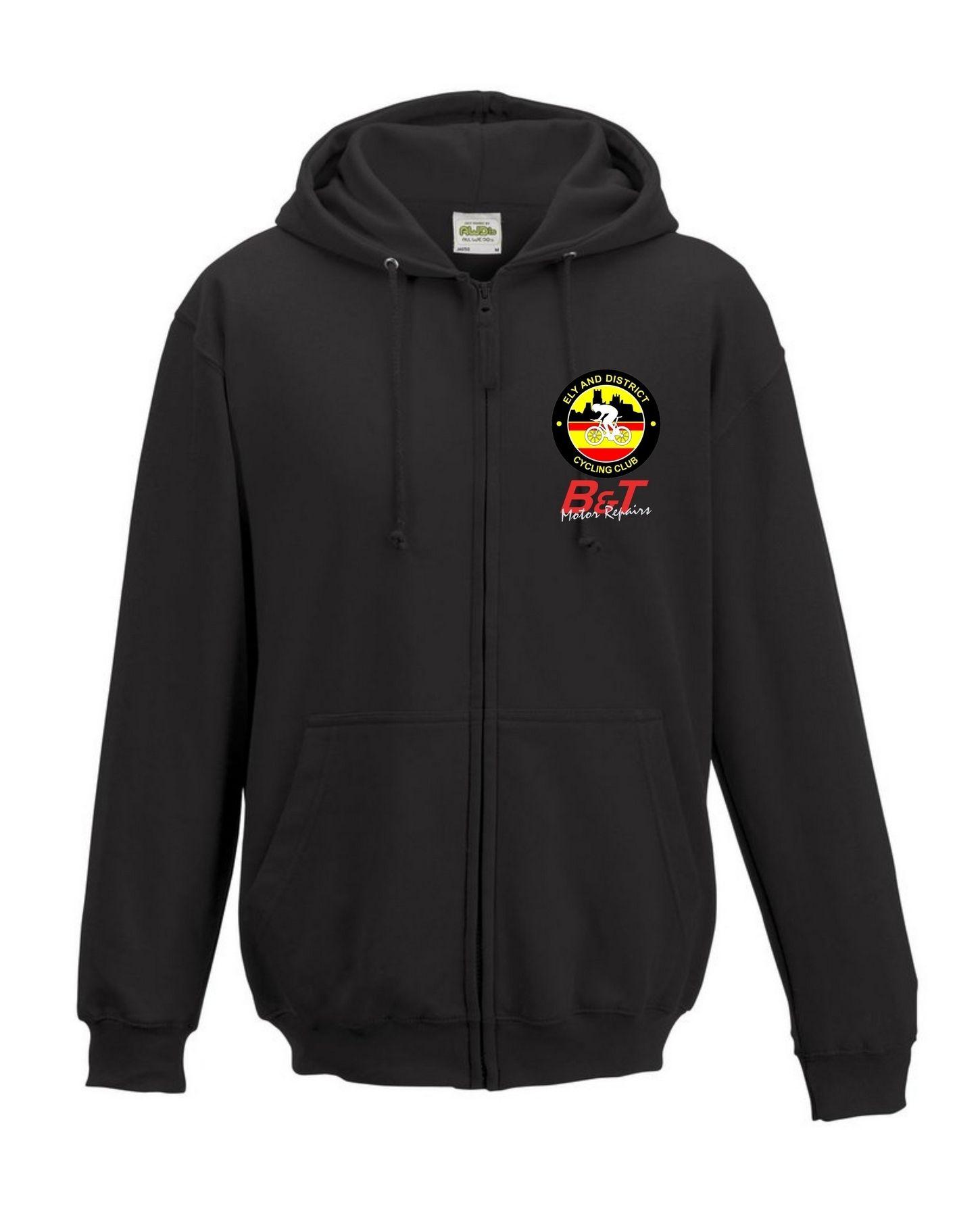 EDCC – Zip Hoodie in Black