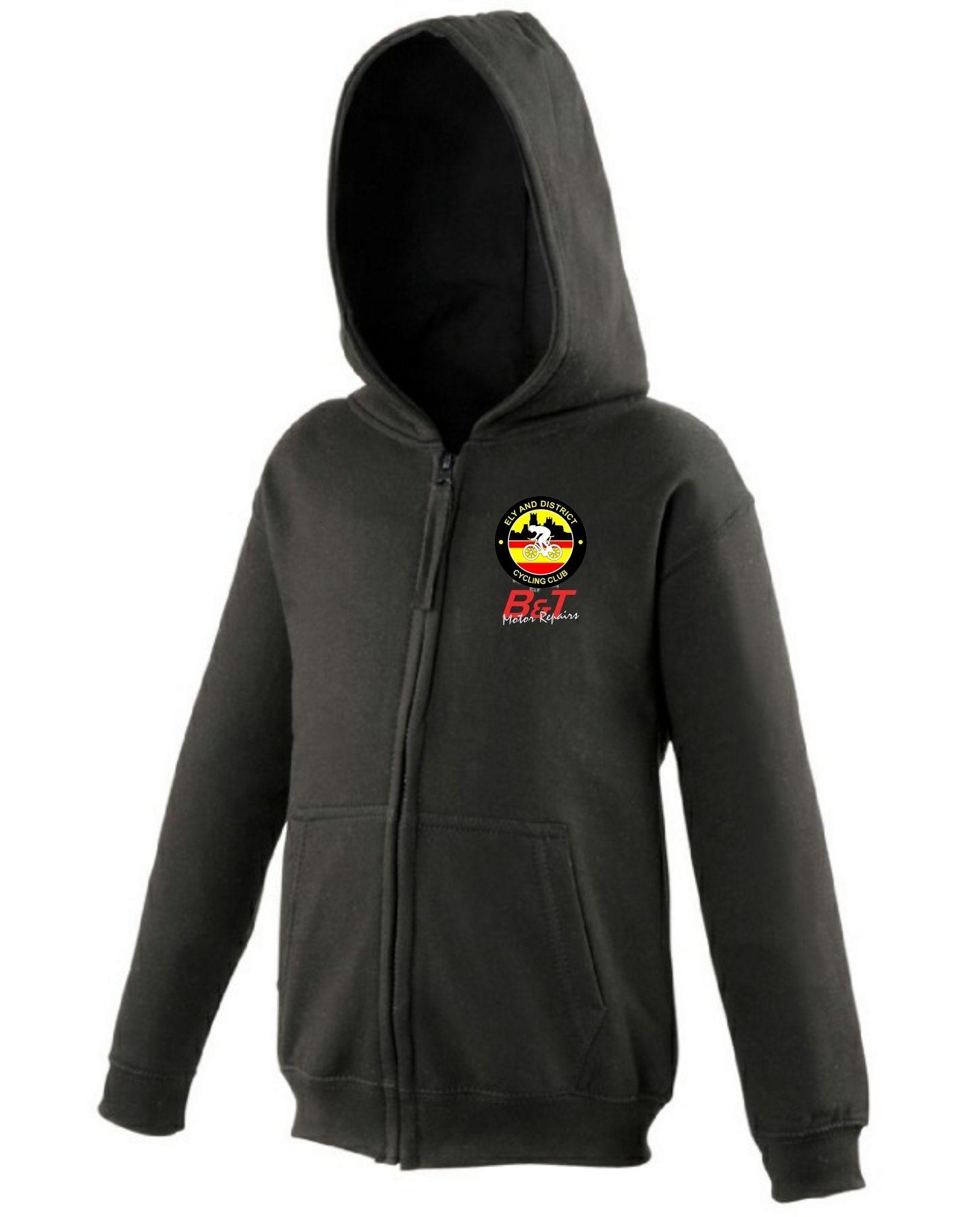 EDCC – Kids Zip Hoodie in Black