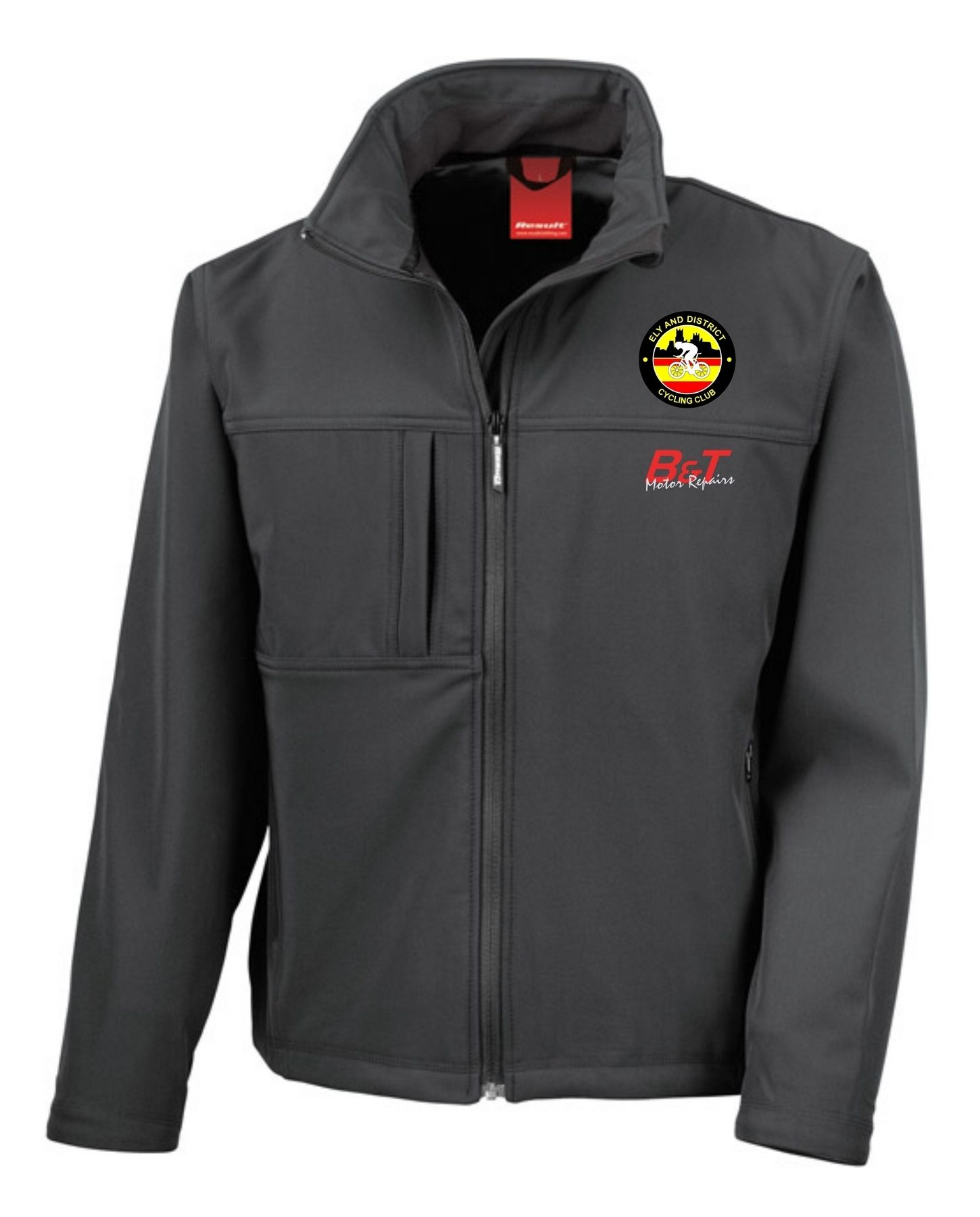 EDCC – Classic Softshell Jacket in Black