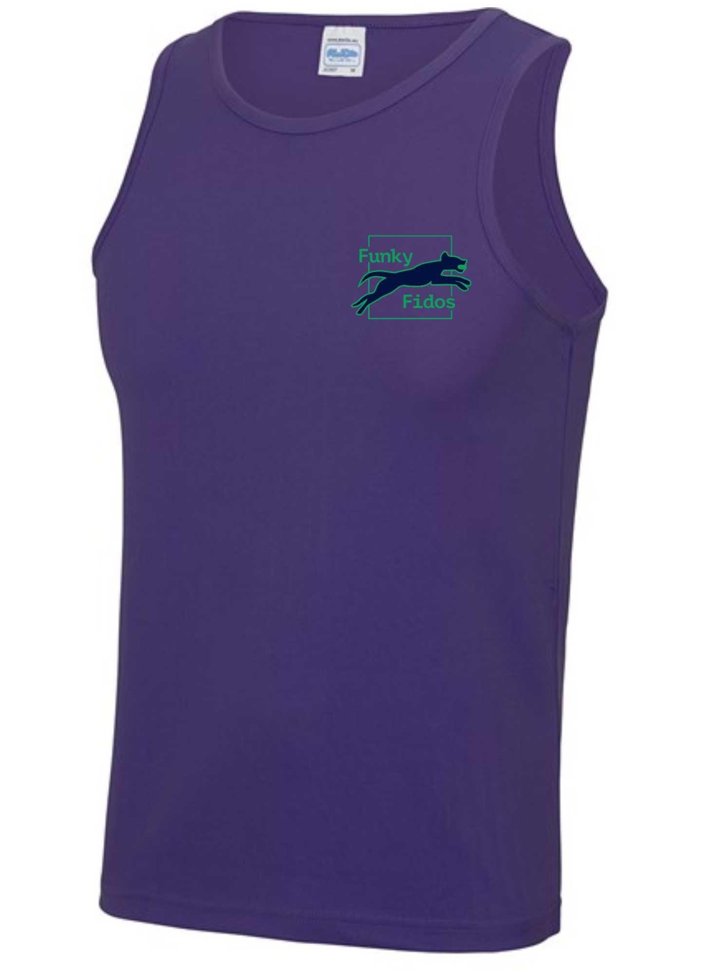 Funky Fidos – AWD Men's Cool Vest (Purple)