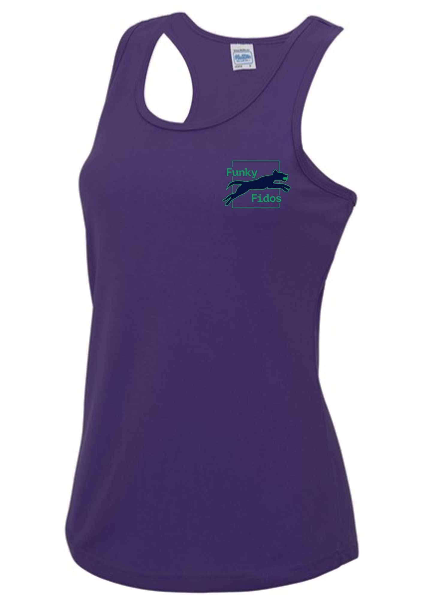 Funky Fidos – AWD Women's Cool Vest (Purple)