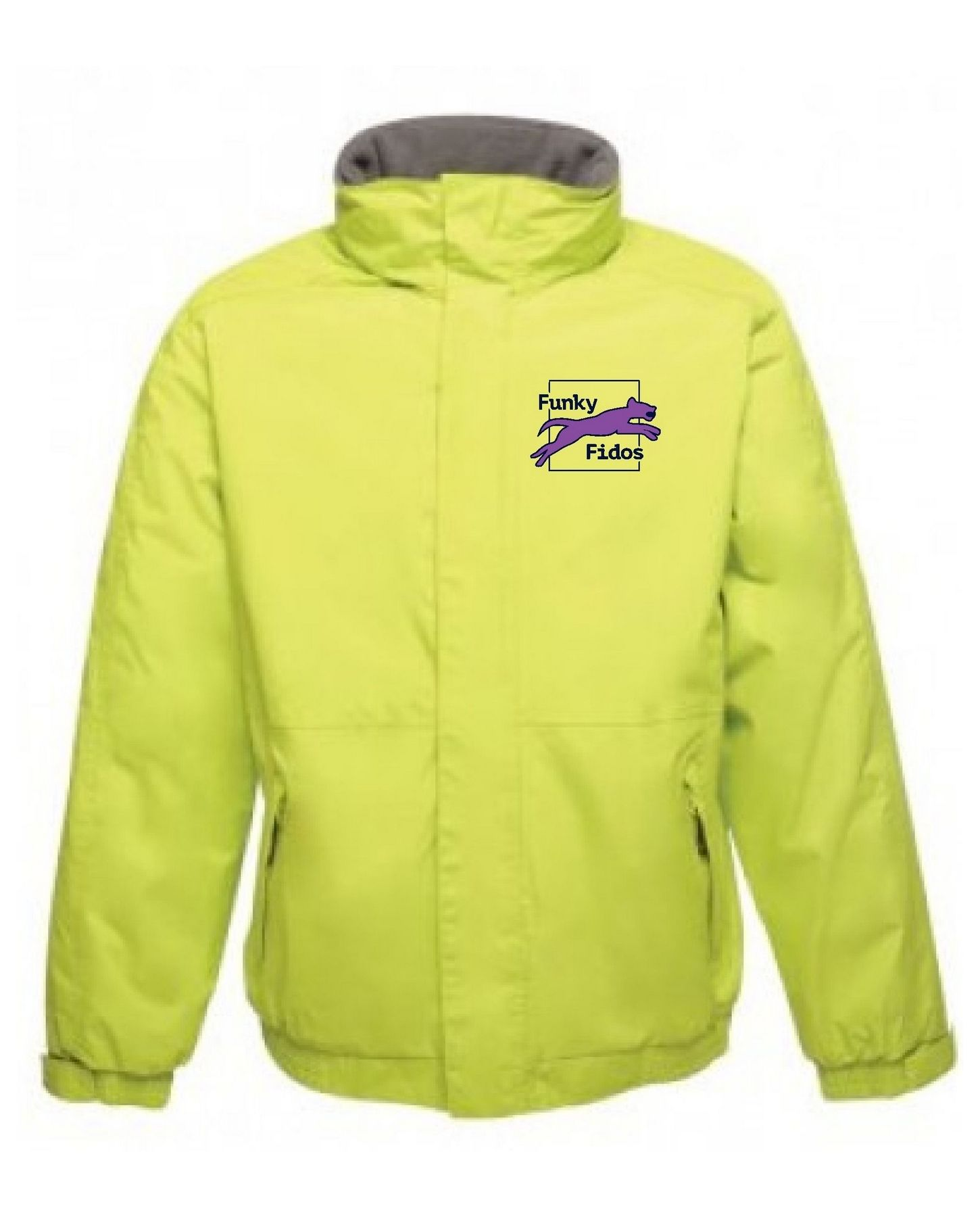 Funky Fidos – Dover Jacket (Lime)