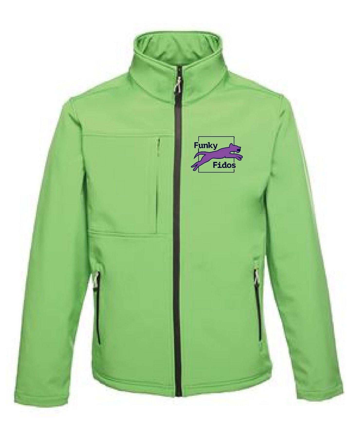 Funky Fidos – Softshell Jacket Unisex (Green)