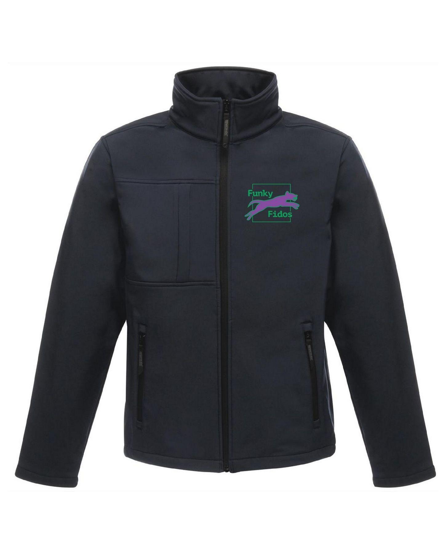 Funky Fidos – Softshell Jacket Unisex (Navy)