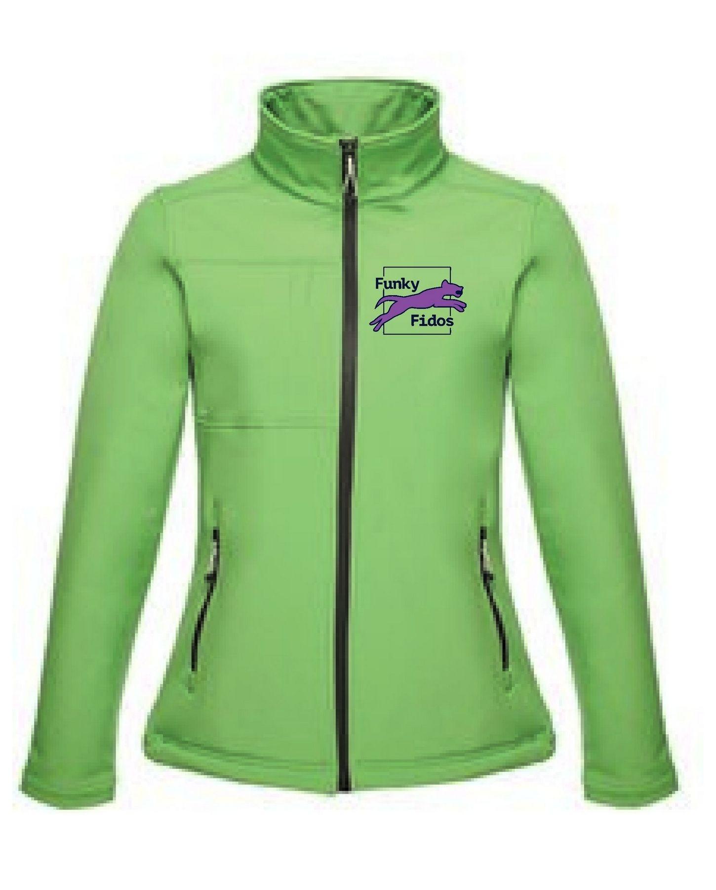 Funky Fidos – Softshell Jacket Ladies (Green)