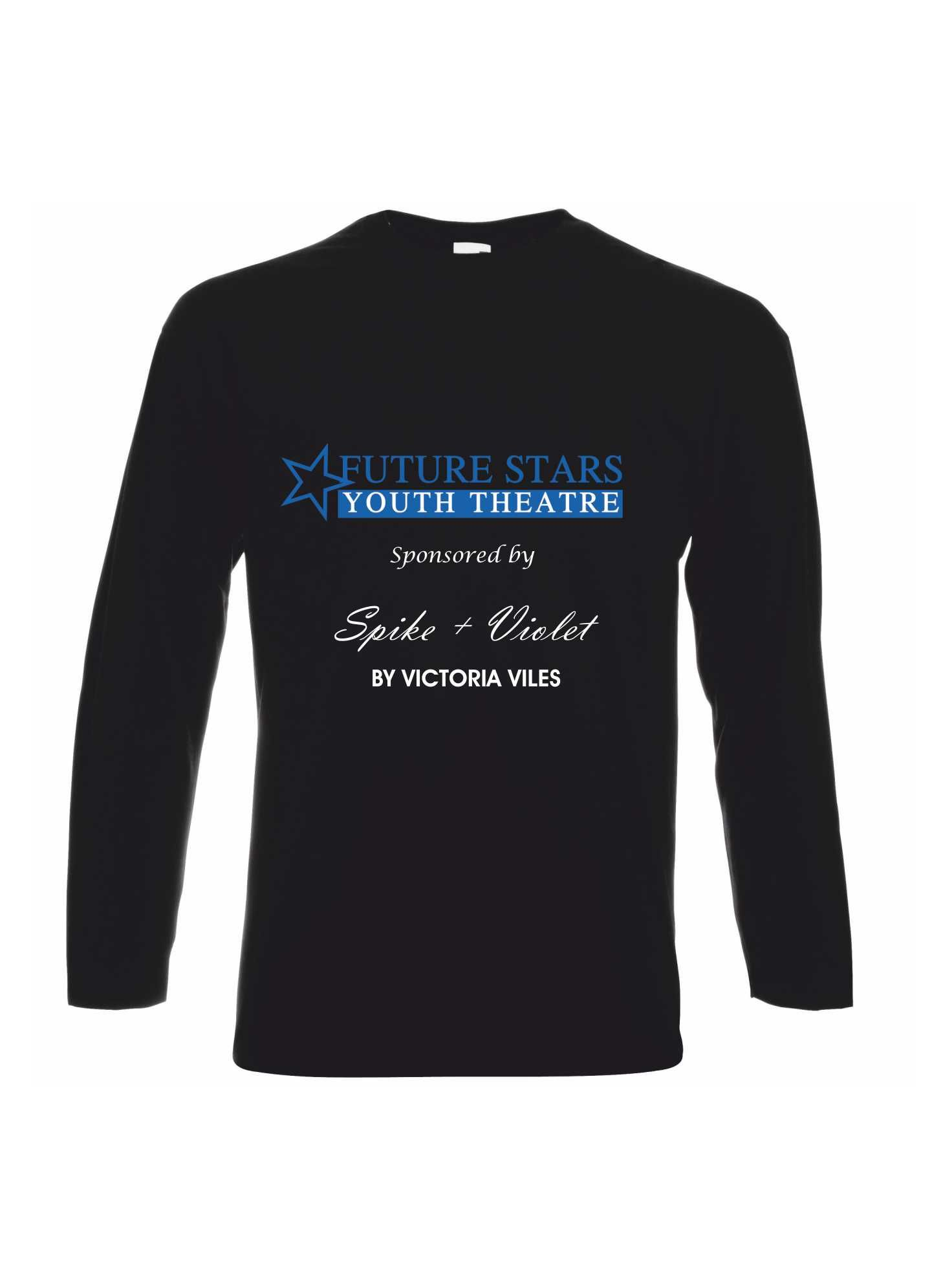 Future Stars Youth Theatre – Long Sleeve T-Shirt (Adults)