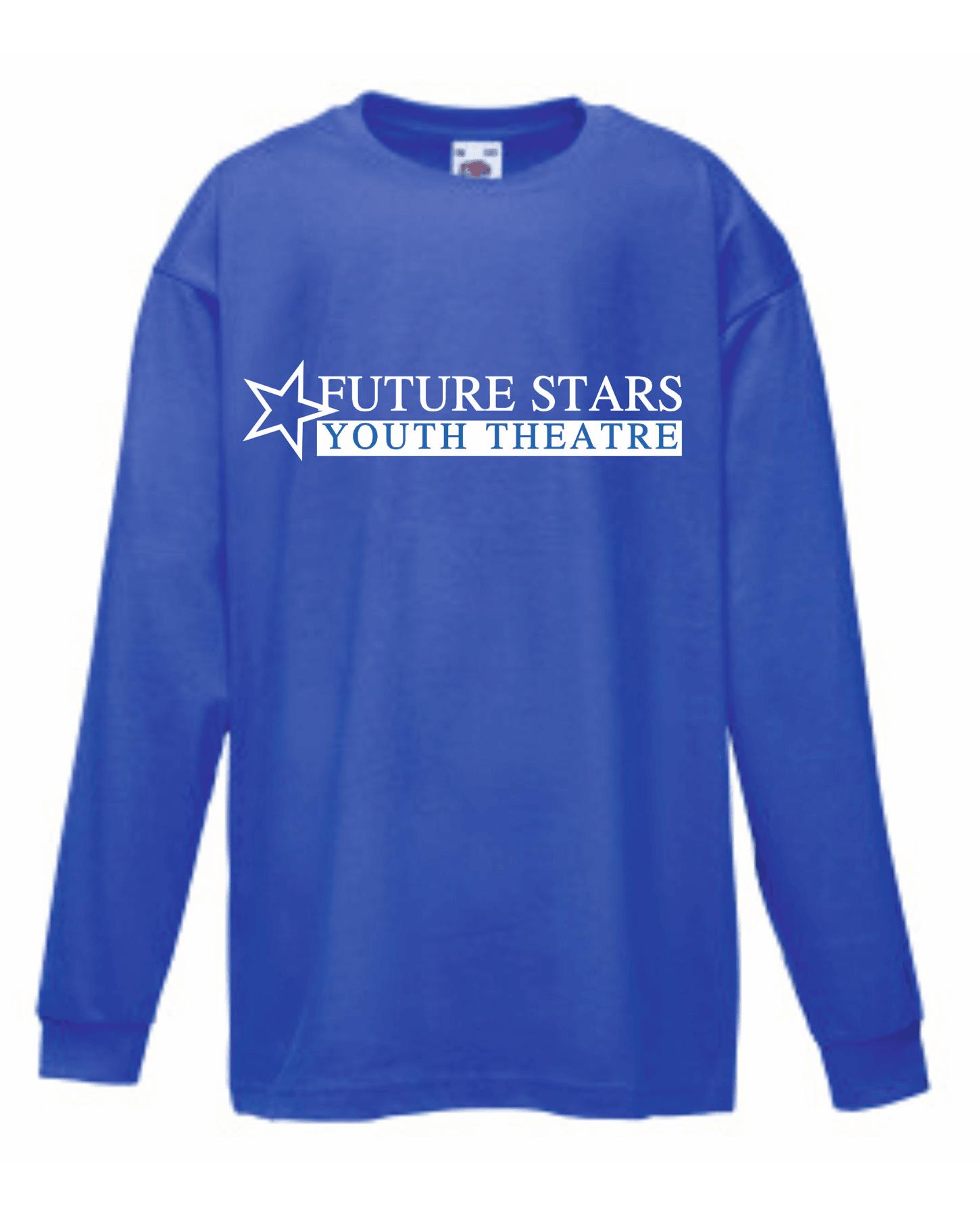 Future Stars Youth Theatre – Kids Long Sleeve T-Shirt