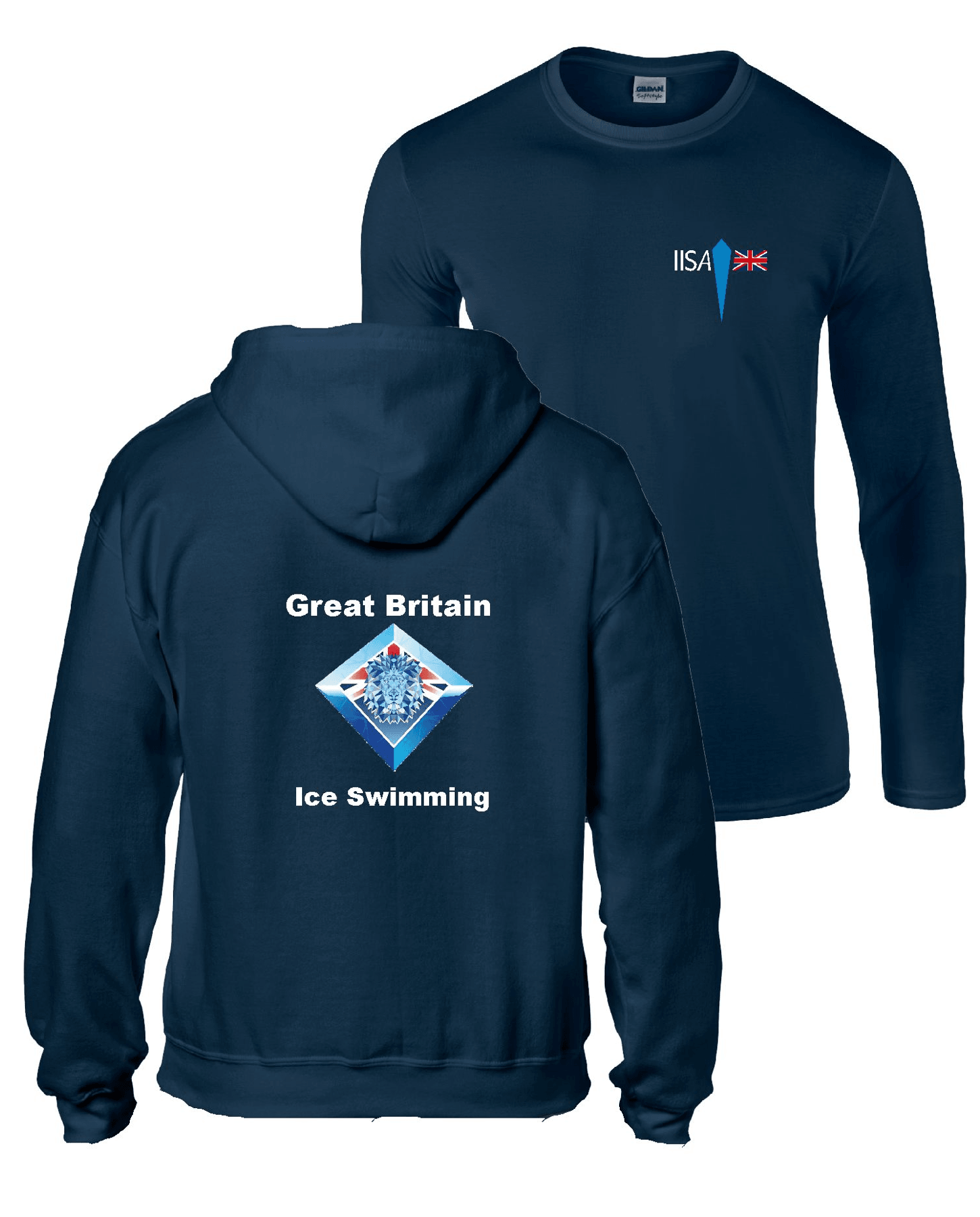 IISA GB – Long Sleeve Tee & Zip Up Hoodie (BUNDLE)
