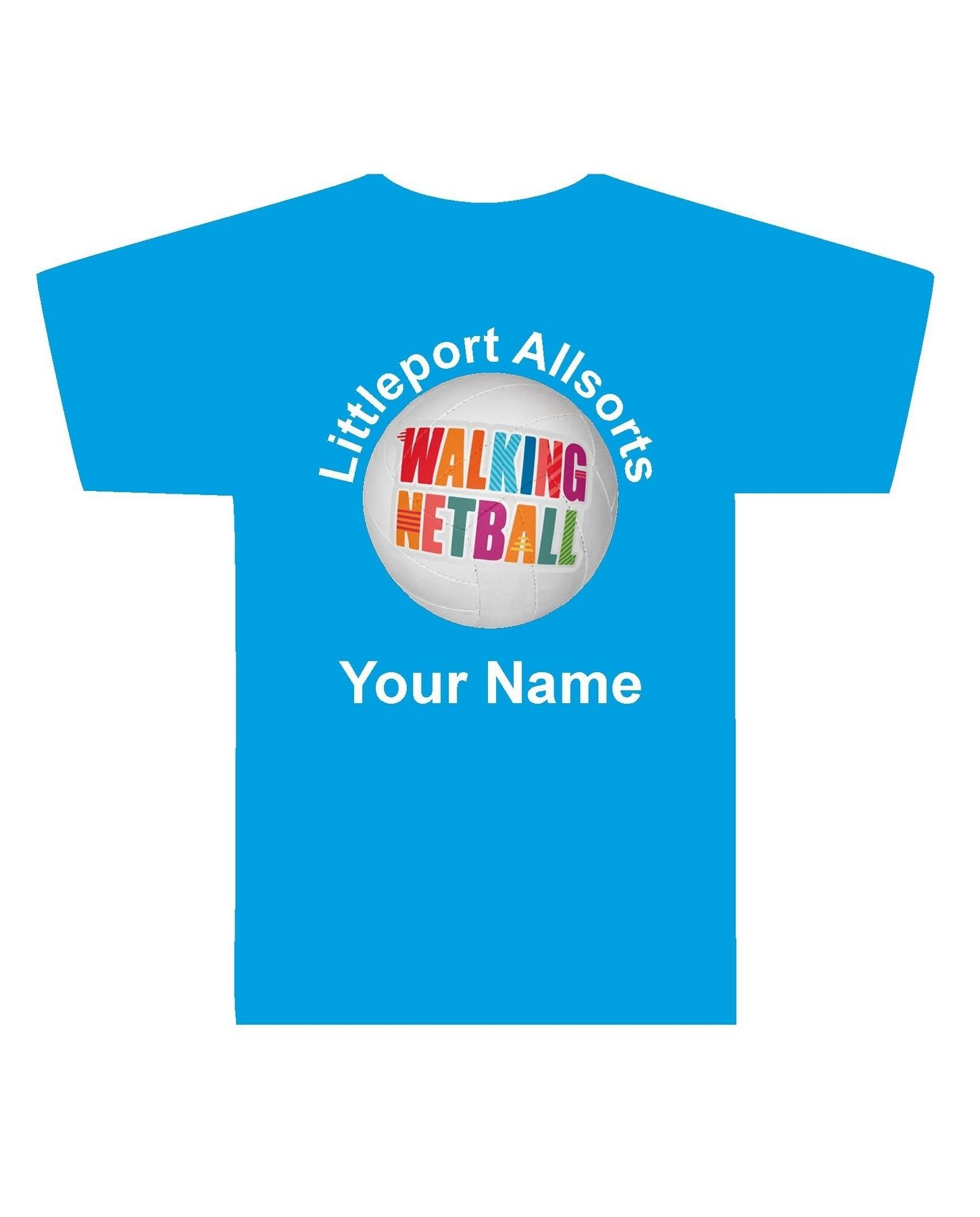 Littleport Walking Netball – Cool Tee (Unisex)