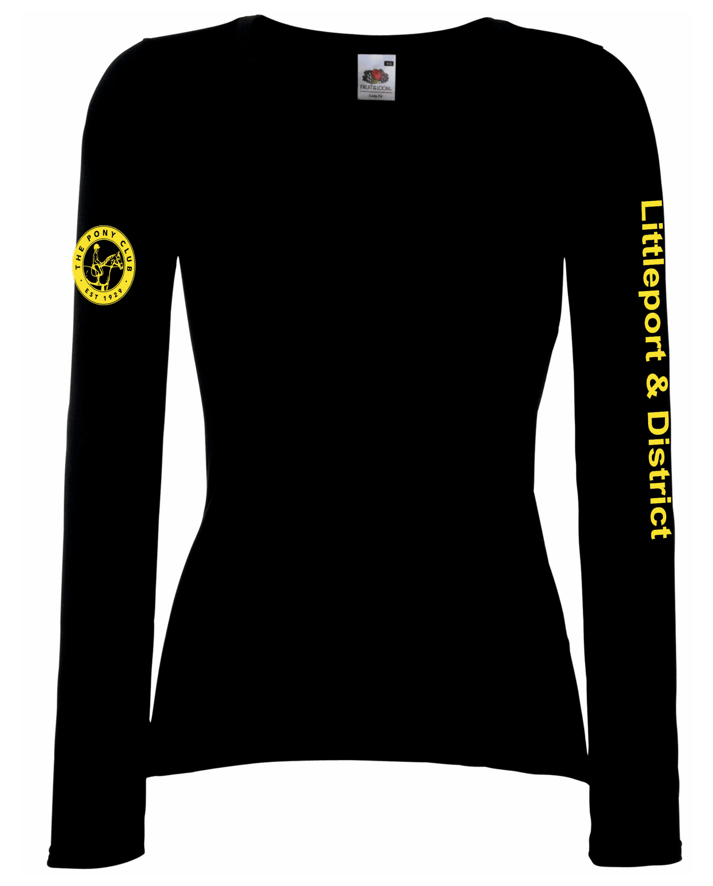 Littleport & District Pony Club – Long Sleeve Tee Ladyfit