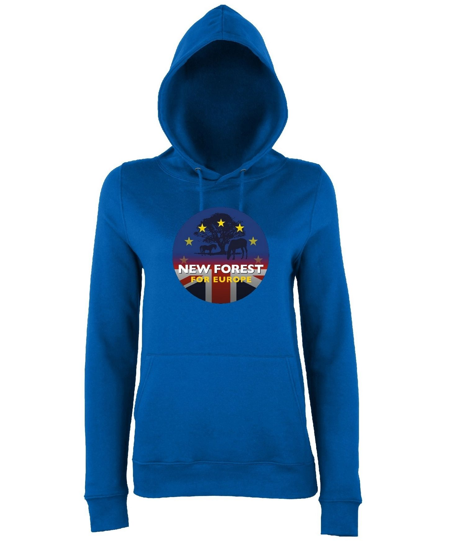 New Forest for Europe – Hoodie (Ladies)