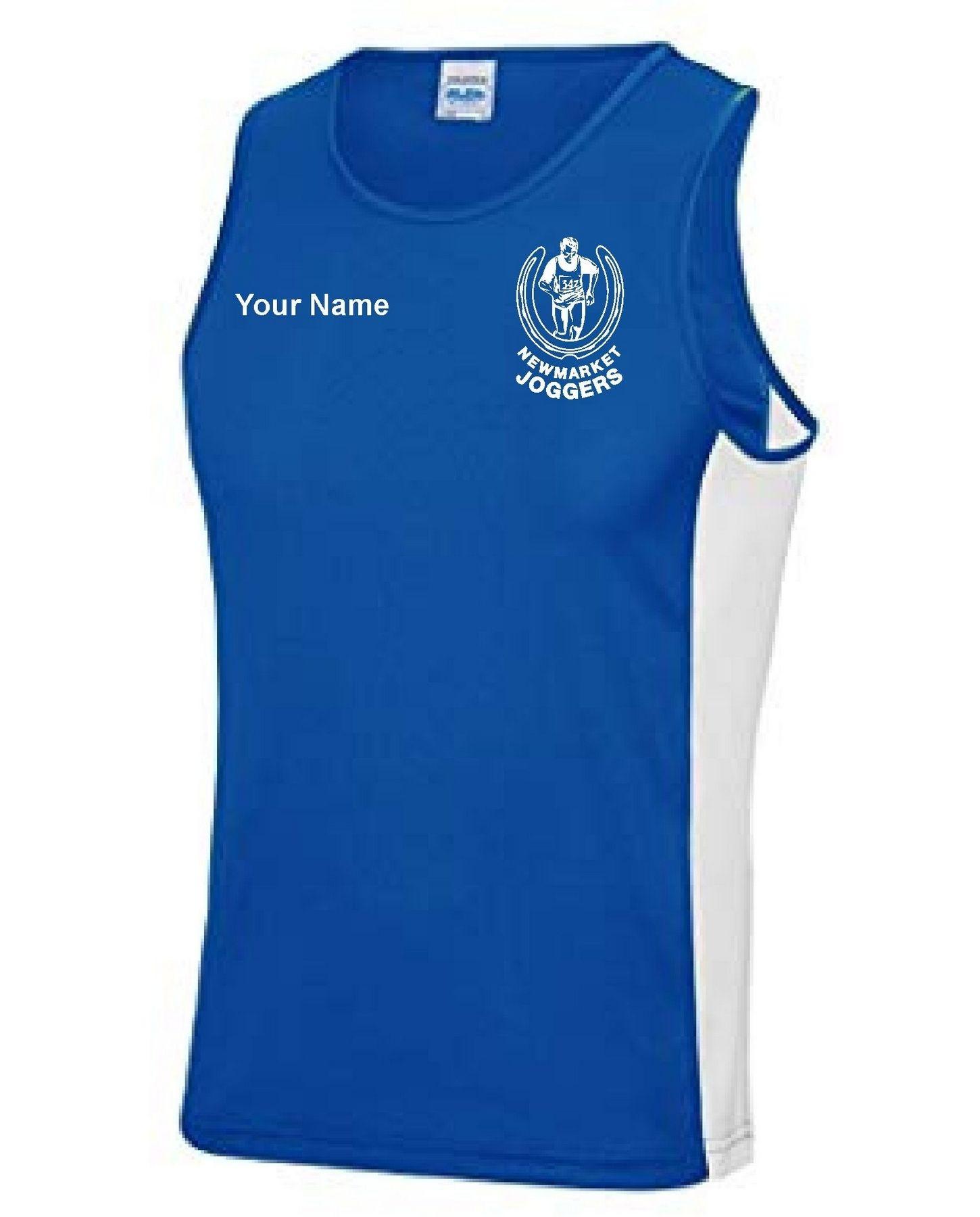 Newmarket Joggers – Contrast Performance Vest (Unisex)