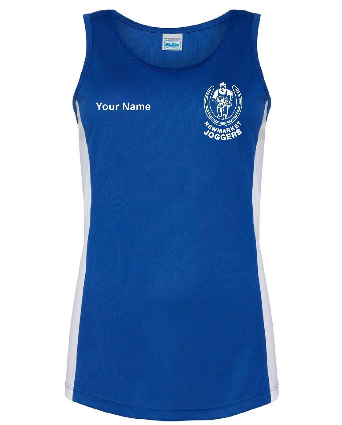 Newmarket Joggers – Contrast Performance Vest (Ladies)