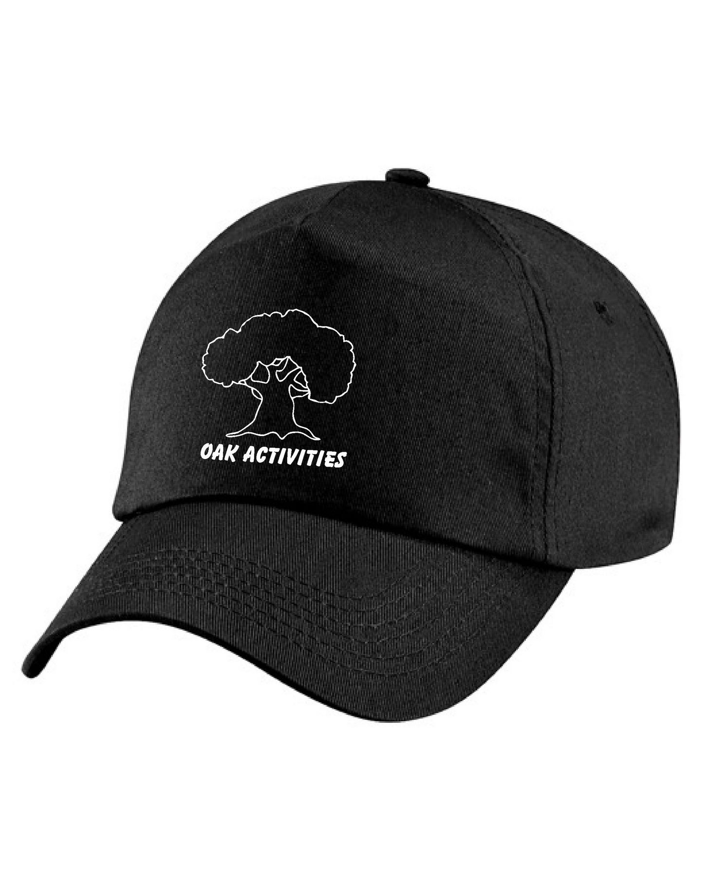 Oak Activities – Junior Cap (Black)