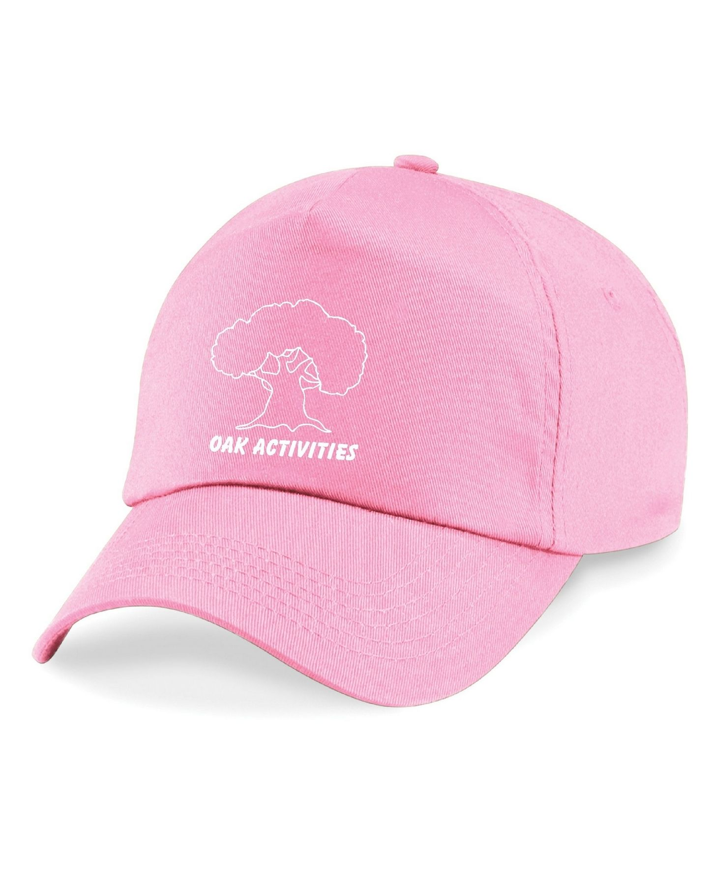 Oak Activities – Junior Cap (Pink)