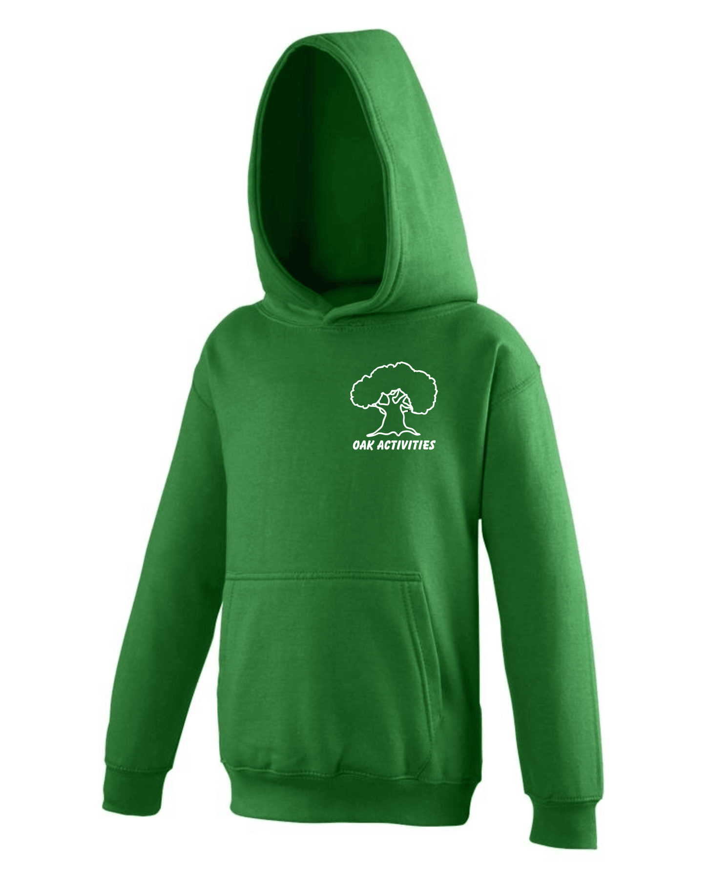 Oak Activities – Kids Hoodie (Green)