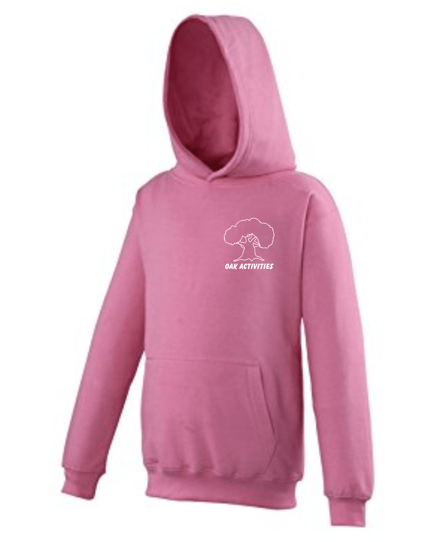 Oak Activities – Kids Hoodie (Pink)