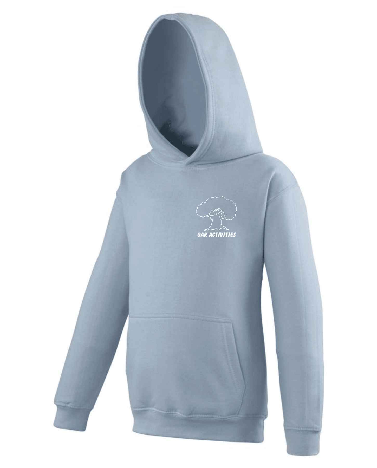 Oak Activities – Kids Hoodie (Sky Blue)