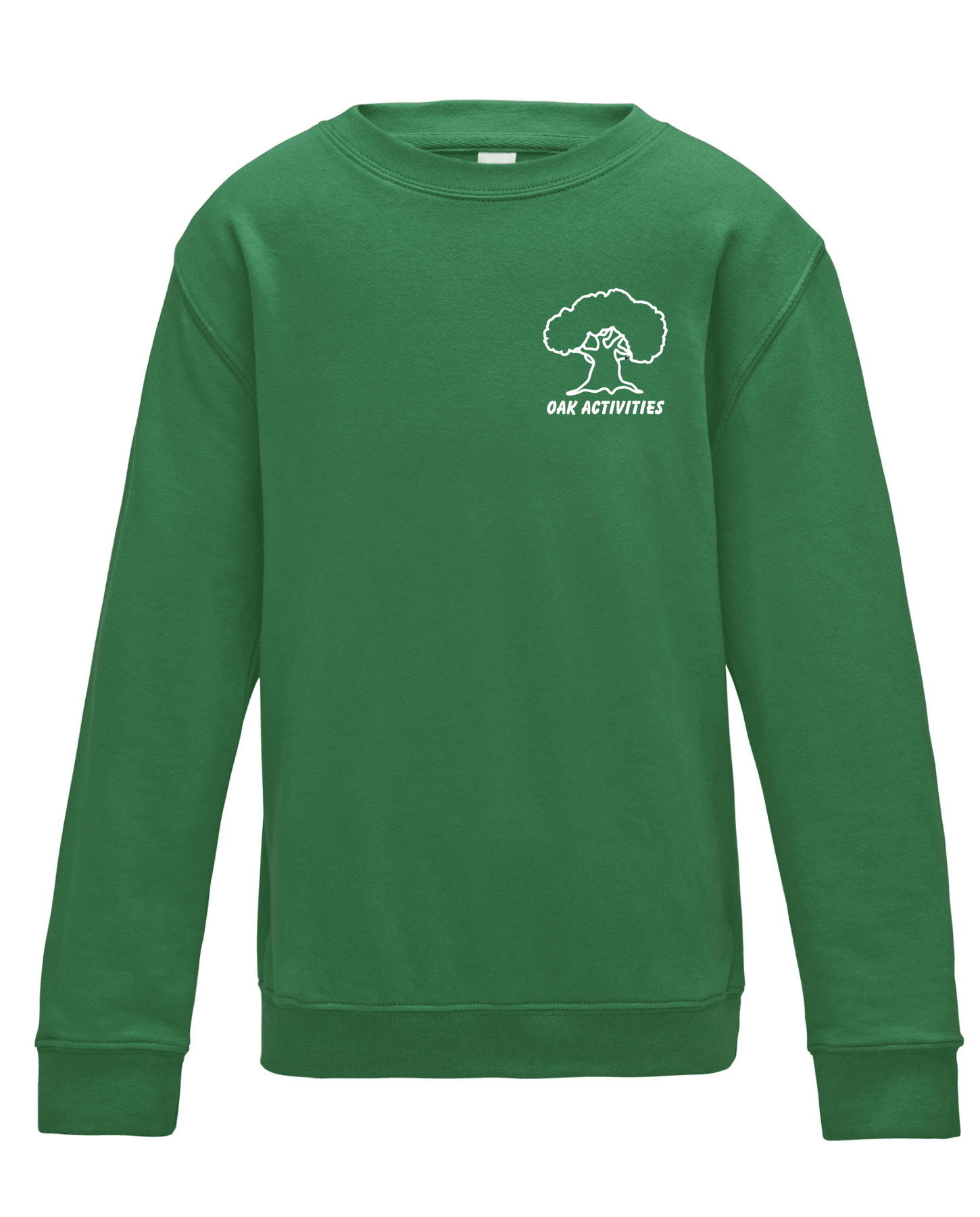 Oak Activities – Kids Sweatshirt (Green)