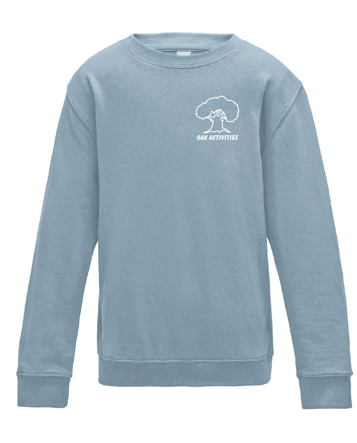 Oak Activities – Kids Sweatshirt (Sky)