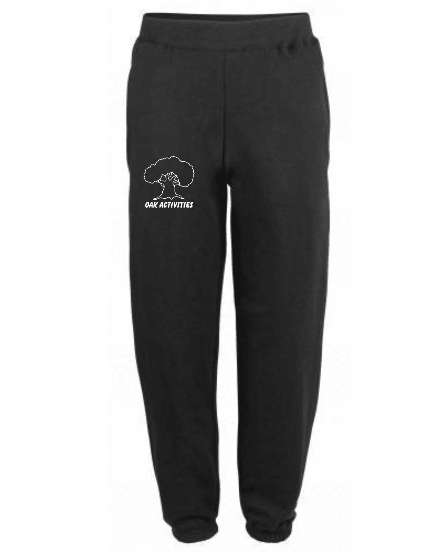 Oak Activities – Kids Tapered Track Pants (Black)