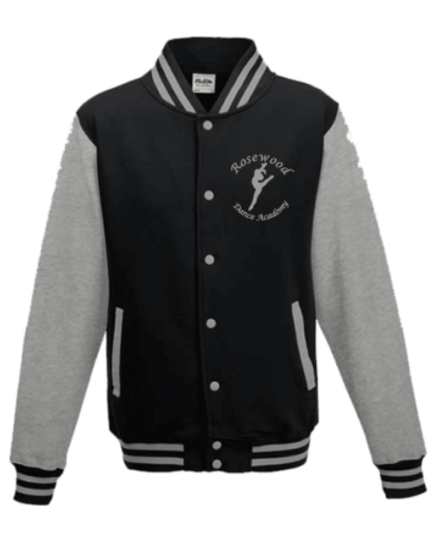 Rosewood Varsity Style Dance Jacket – Adult