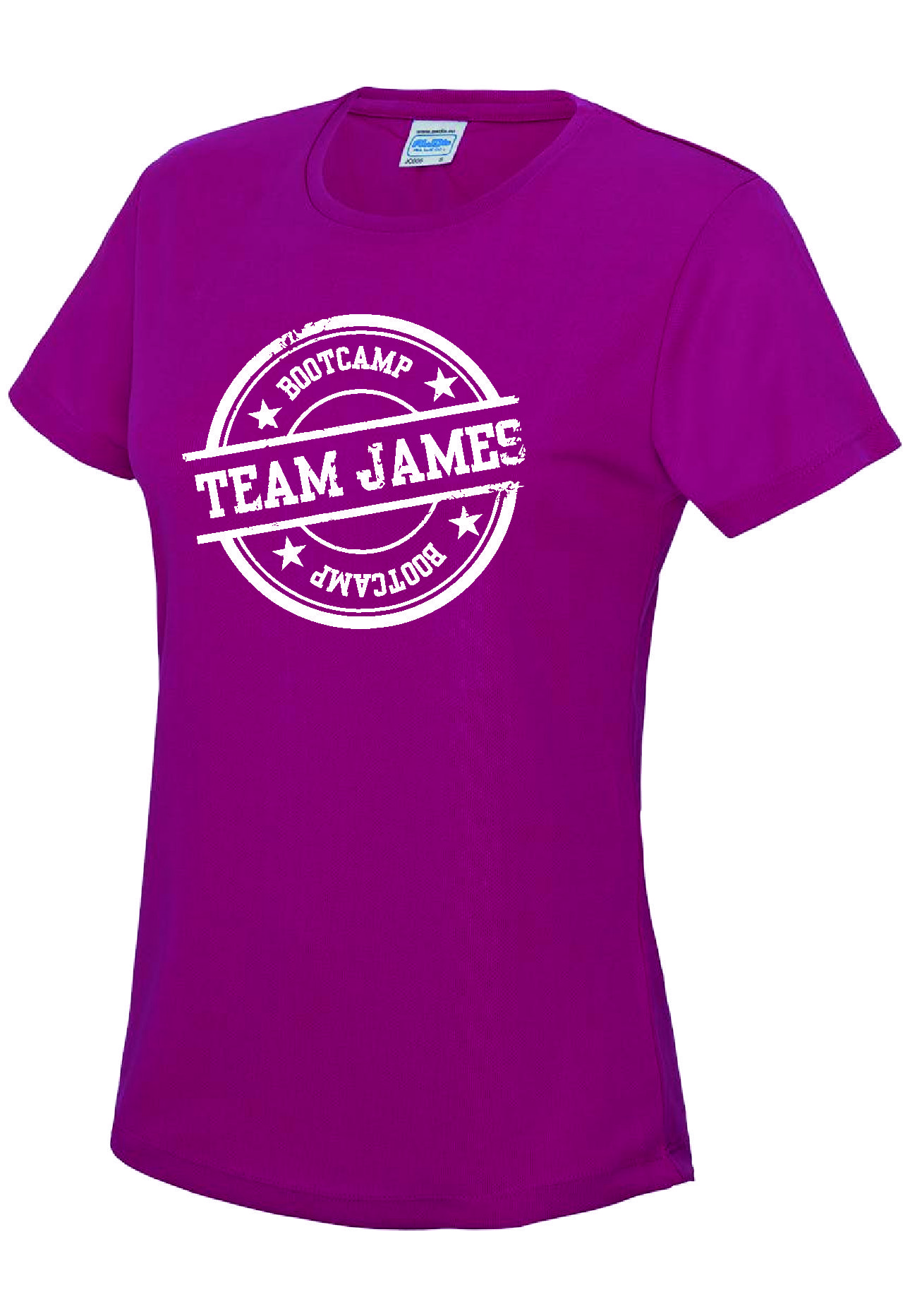Team James - Performance Tee (Ladies)