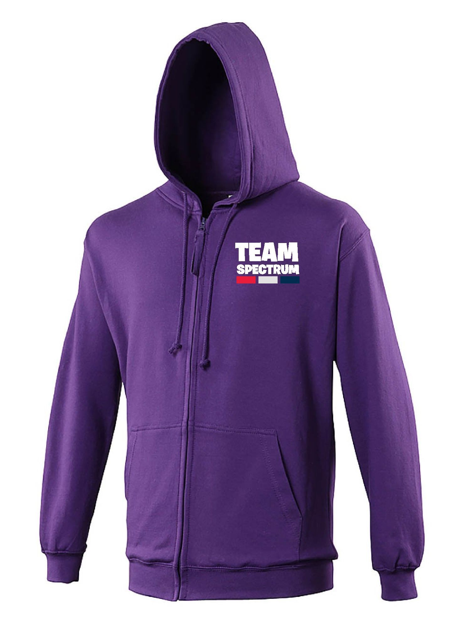 Team Spectrum - Zip Hoodie (Unisex)