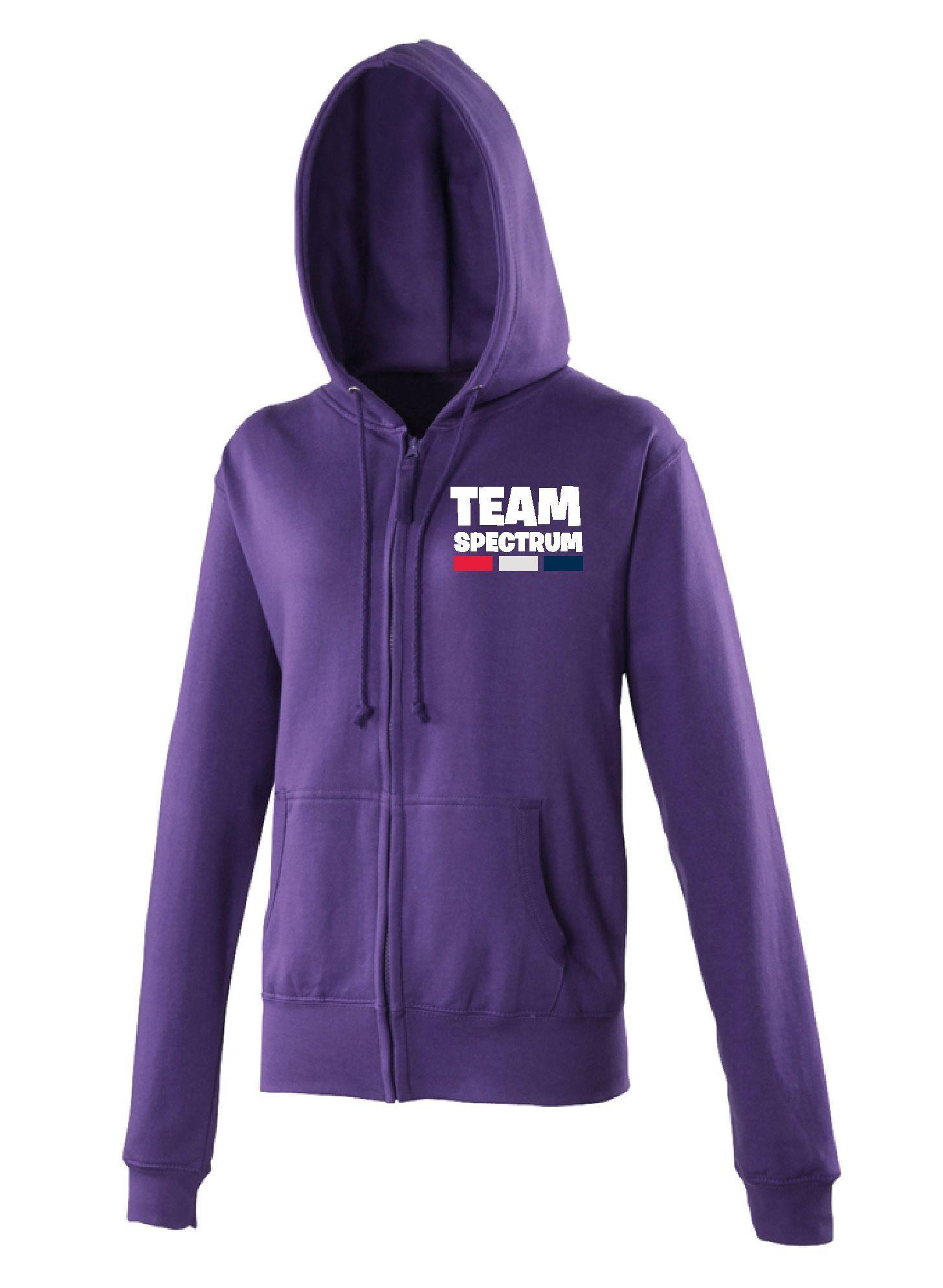 Team Spectrum - Zip Hoodie (Ladies)