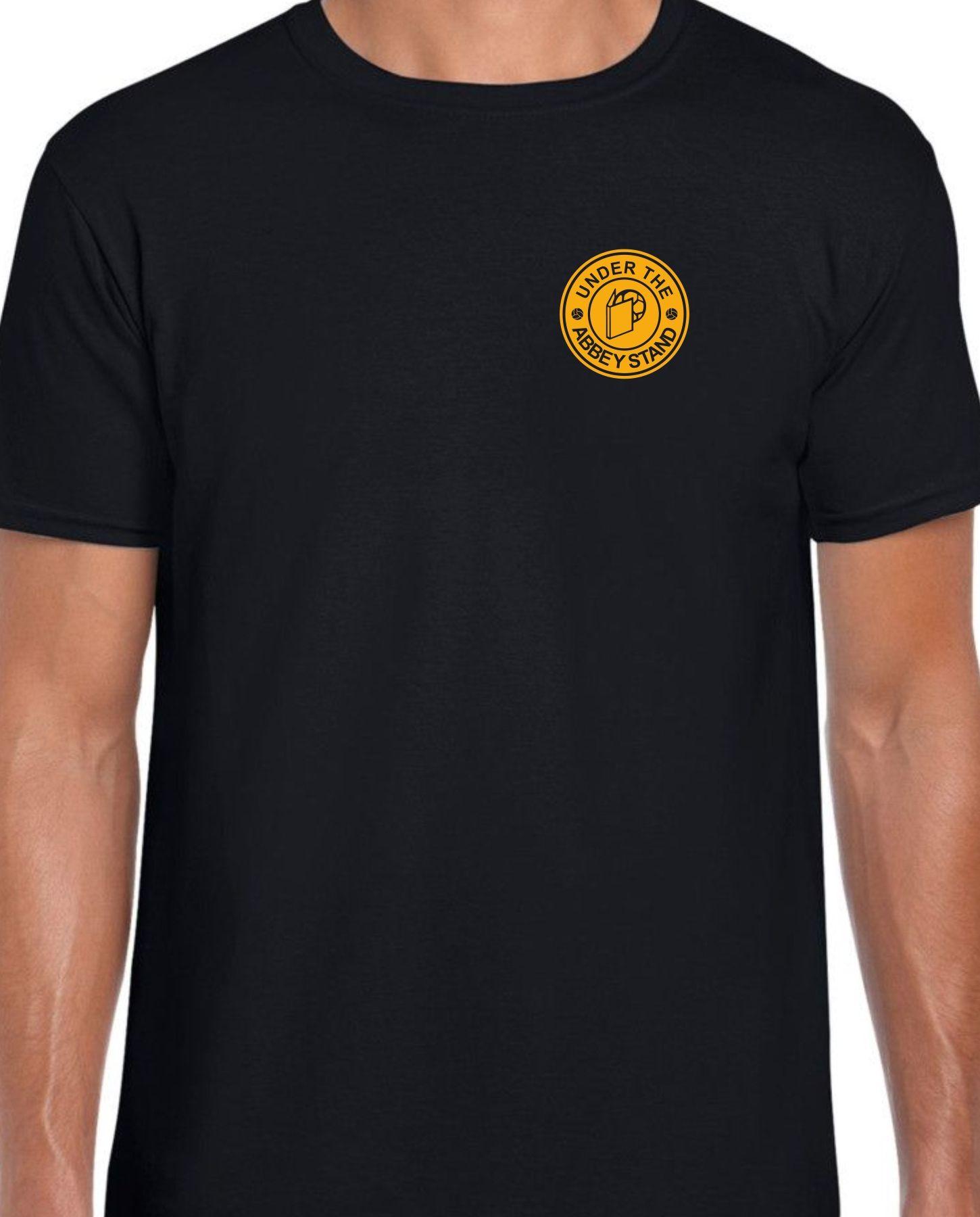 UTAS Printed Logo Black Tee