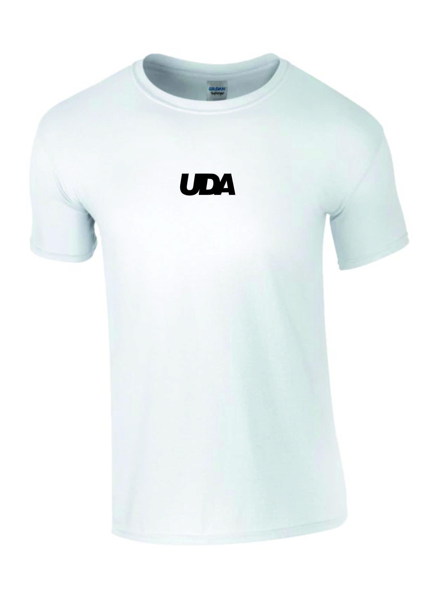 LIMITED EDITION: UDA – Kids T-Shirt (White & Black)