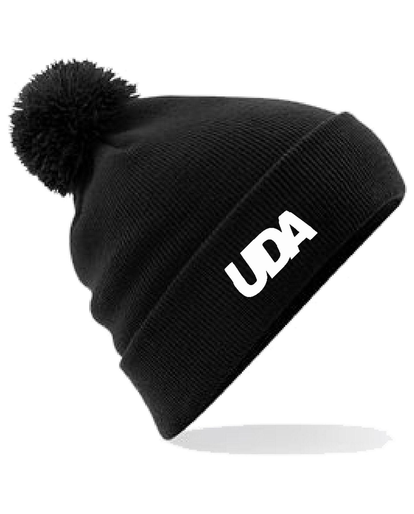 UDA – Bobble Beanie (Black)