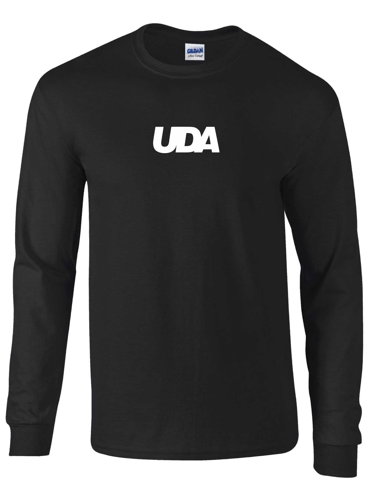 LIMITED EDITION: UDA – Kids T-Shirt L/S (Black & White)