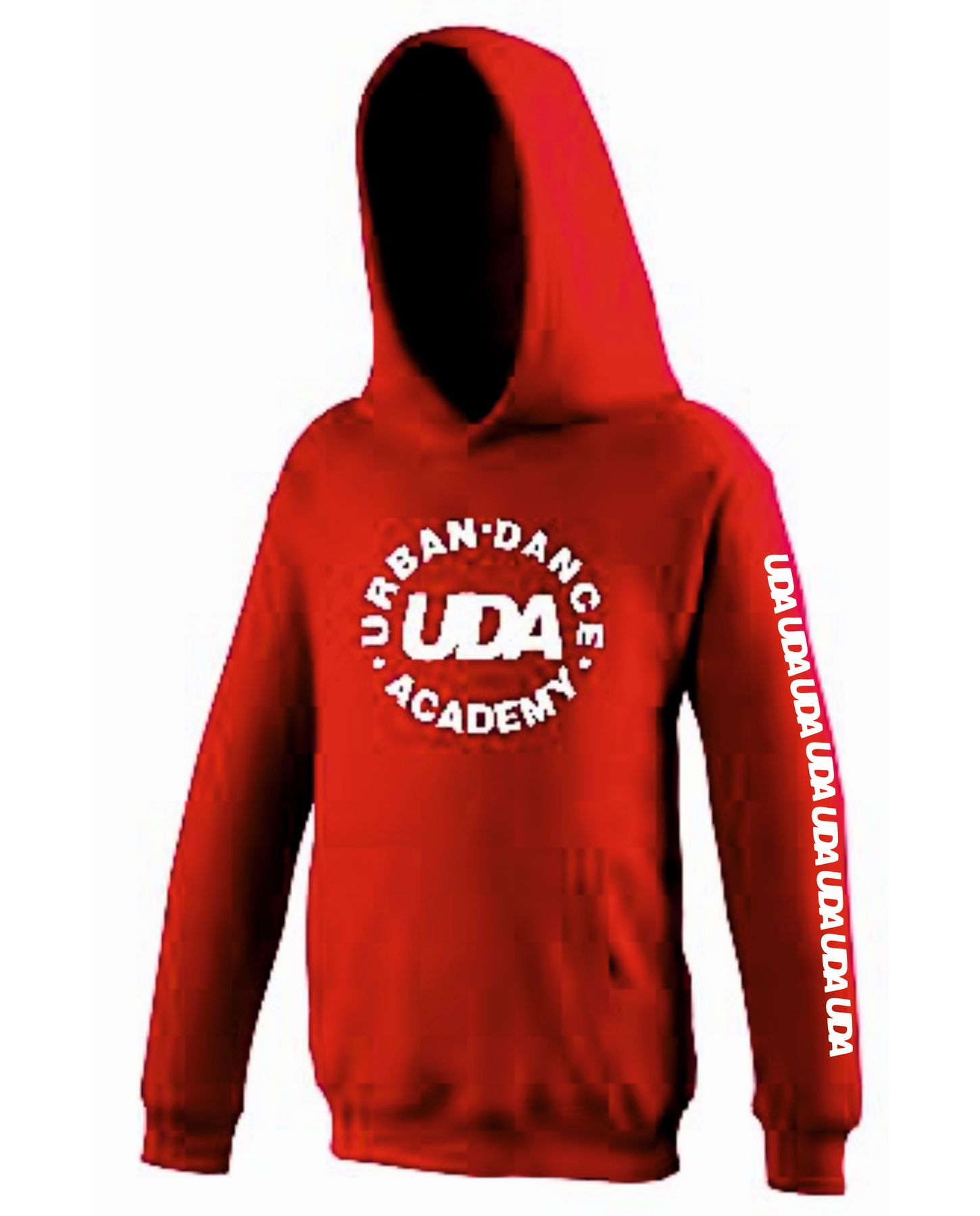 UDA – Adults Hoodie (Red)