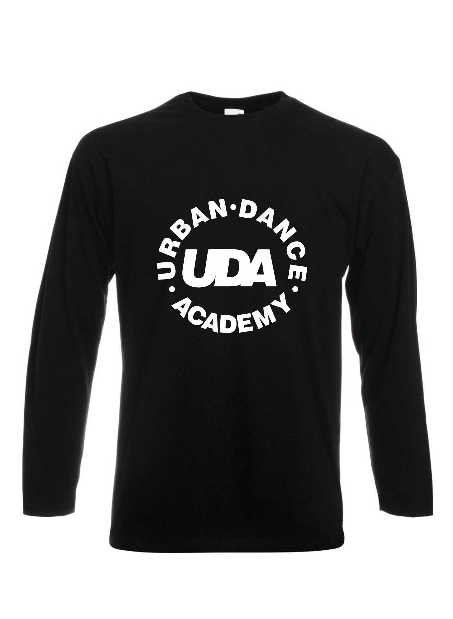 UDA – T-Shirt Long Sleeve (Kids) (Black)