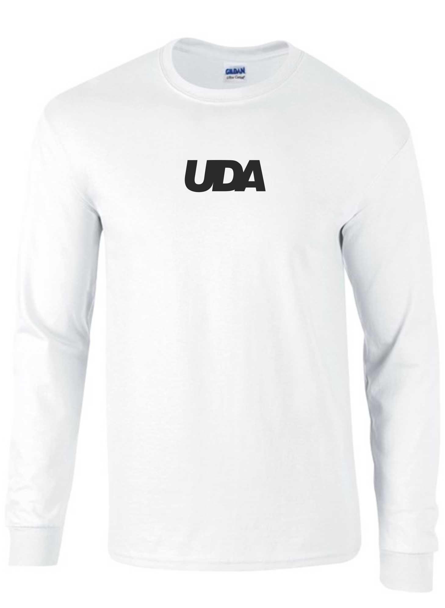 LIMITED EDITION: UDA – Kids T-Shirt L/S (White & Black)