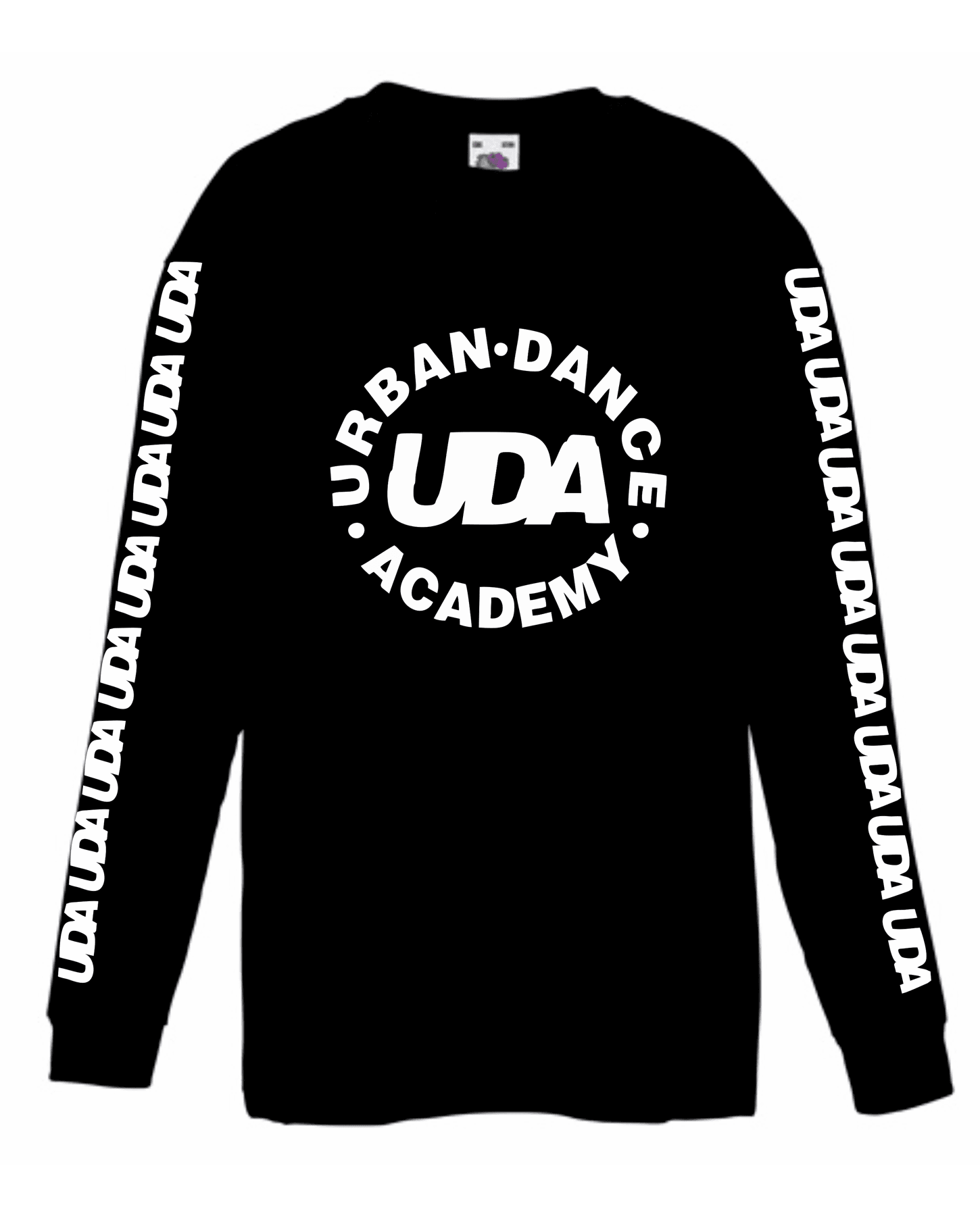 UDA – Kids Long Sleeve T-Shirt (Black)