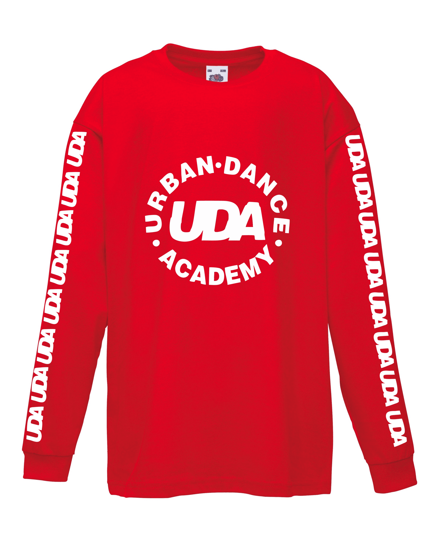 UDA – Kids Long Sleeve T-Shirt (Red)