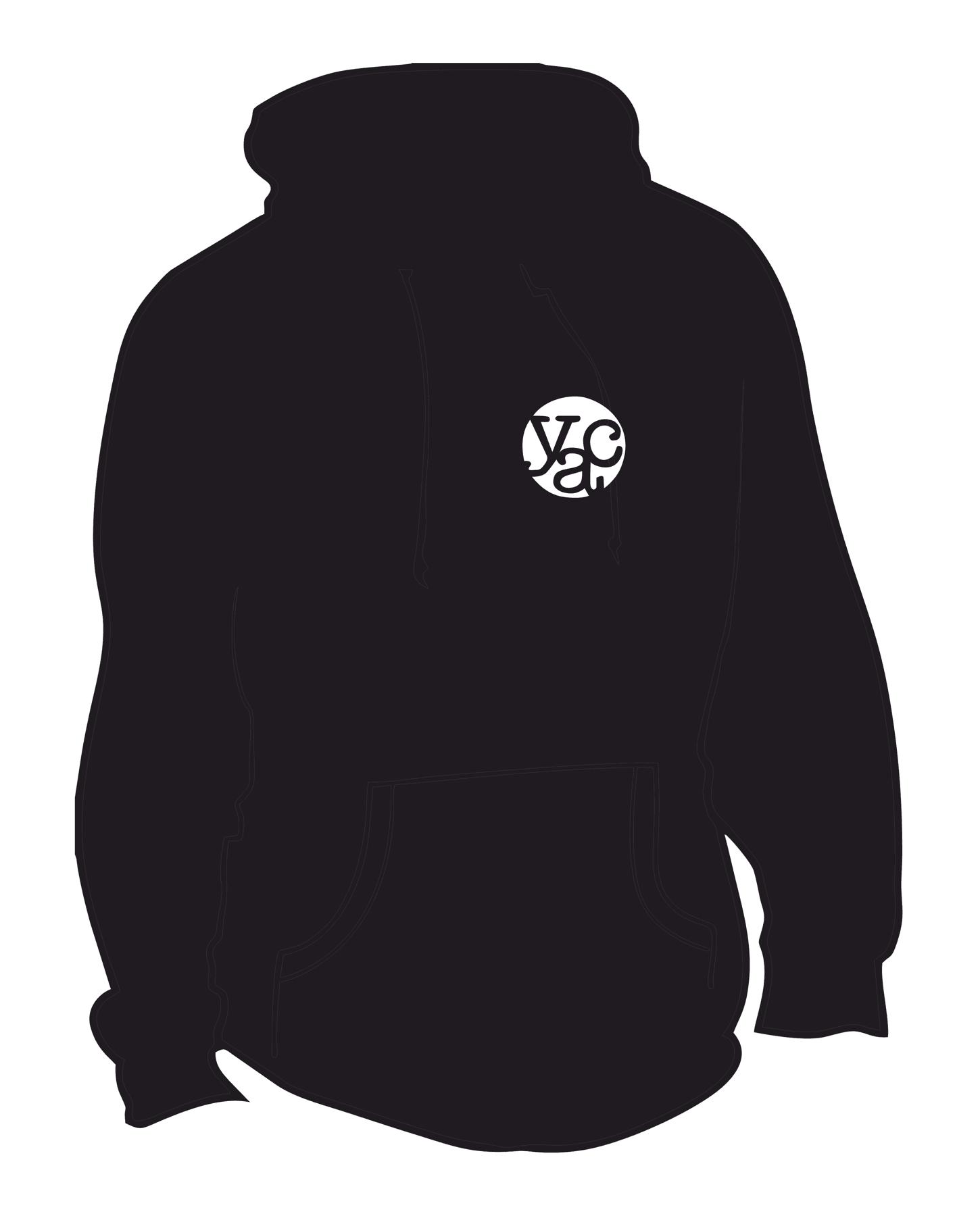 YAC Black Hoodie – Adult
