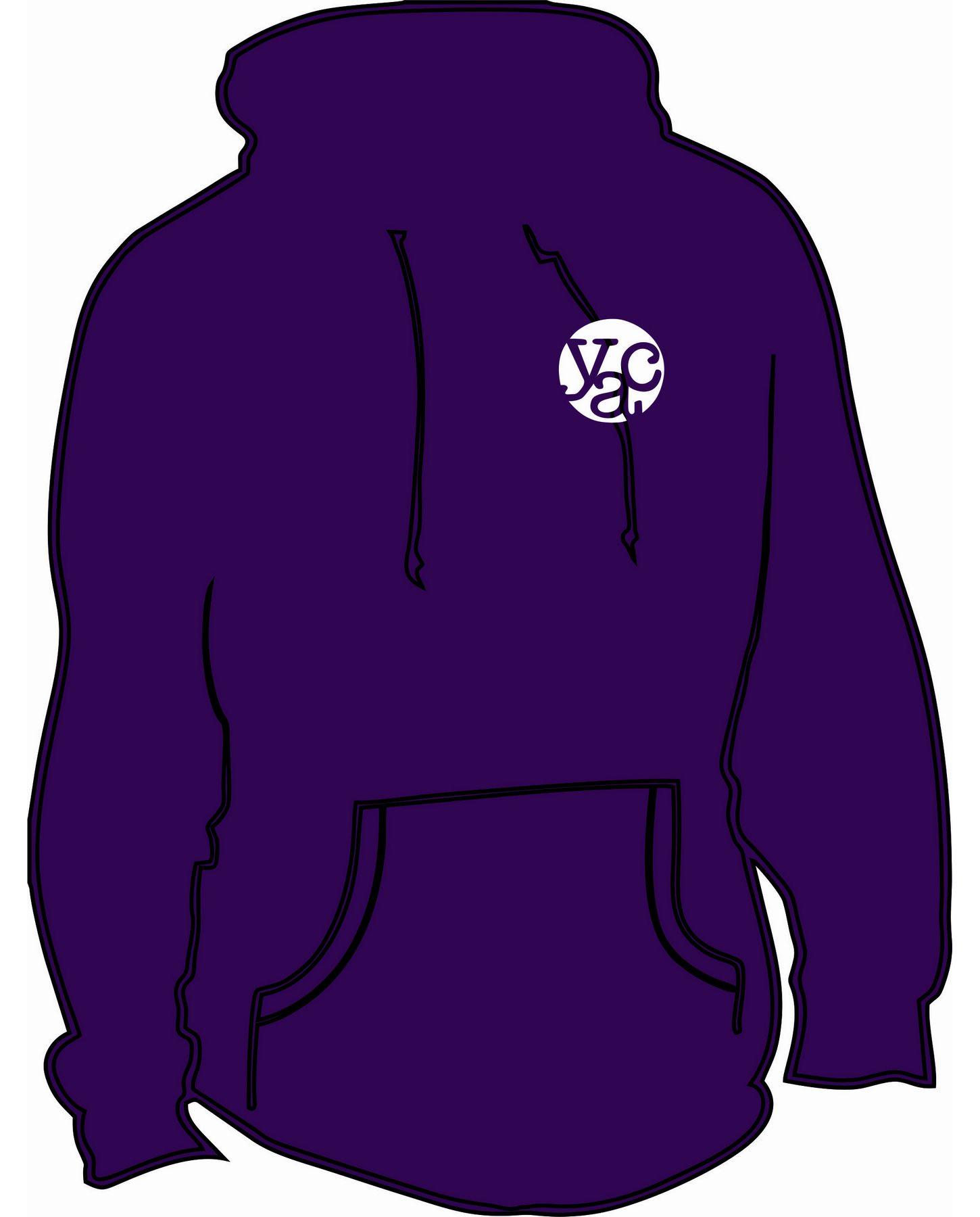 YAC Purple Hoodie – Adult